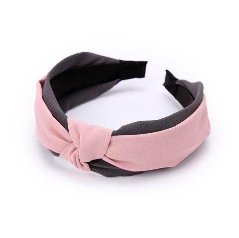 New Double Color Hoop in Spring and Summer Hairband - PINK