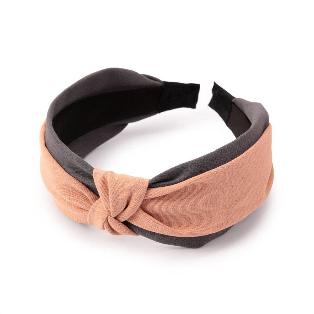New Double Color Hoop in Spring and Summer Hairband - SAKURA PINK