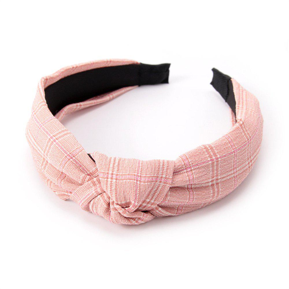 Intersected with Fashion Hoop Hairband - PINK