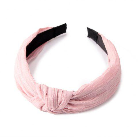Accueil Voyage Croix Noeud Doux Hairband Sweet - Perle
