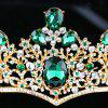 Bride Accessories Baroque Colored Crown - multicolor 8 X 32CM