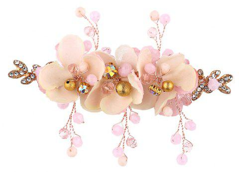 Children'S Dress Accessories Pink Flower Hairpin - LIGHT PINK 8 X 10CM