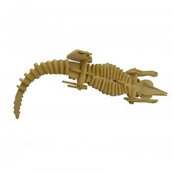 3D Wooden Animal Puzzle - WOOD