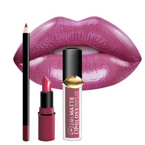 Makeup Lasting Natural Cute Lipstick Set - 002