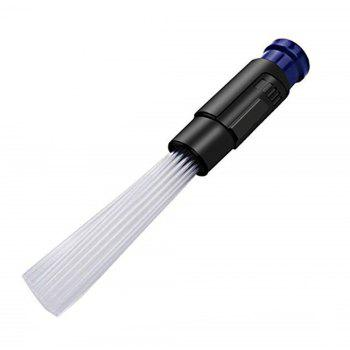 Dust Pro Cleaner Dust Remover Vacuum Attachment for Home Air Vent Corner Car - BLUE