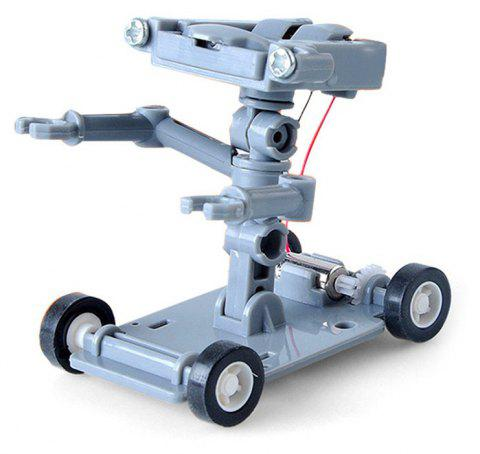 DIY Assembly Salt Water Powered Robot Kit Kid Science Educational Toy - LIGHT GRAY