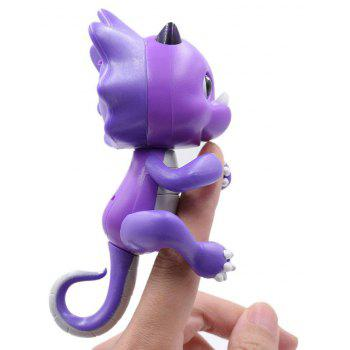Cute Baby Dinosaur Style Finger Playing Pet Toy - PURPLE