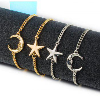 Fashion Trend Bright Star Bracelet - SILVER