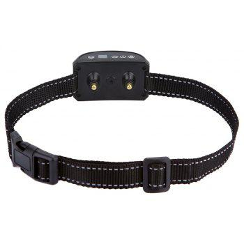 Rechargeable Anti Collar for Small Dogs Most Humane Stop Roar - BLACK