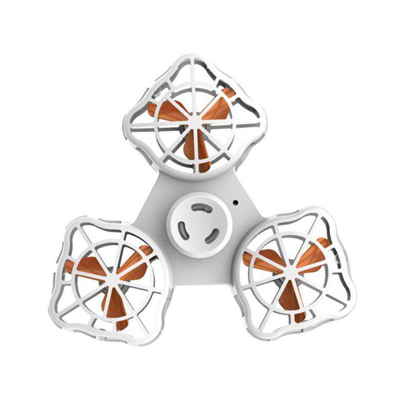 Rotary Flying Gyro  Anti-stress Finger Spinner Gift Toys for Children - WHITE