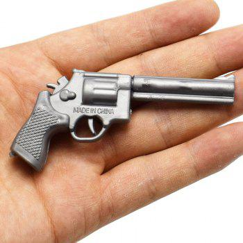 Children Puzzle DIY Assembled Small Pistol Model - GUNMETAL