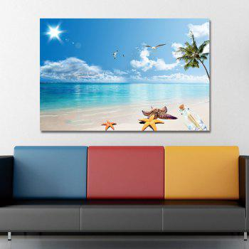 DYC11242 Beach Scenery Print Art - multicolor