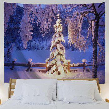 Ice World 3D Printing Home Wall Hanging Tapestry for Decoration - multicolor W203CMXL153CM