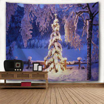 Ice World 3D Printing Home Wall Hanging Tapestry for Decoration - multicolor W153CMXL130CM