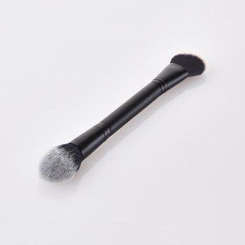 Single Headed Wooden Handle End Blush - BLACK