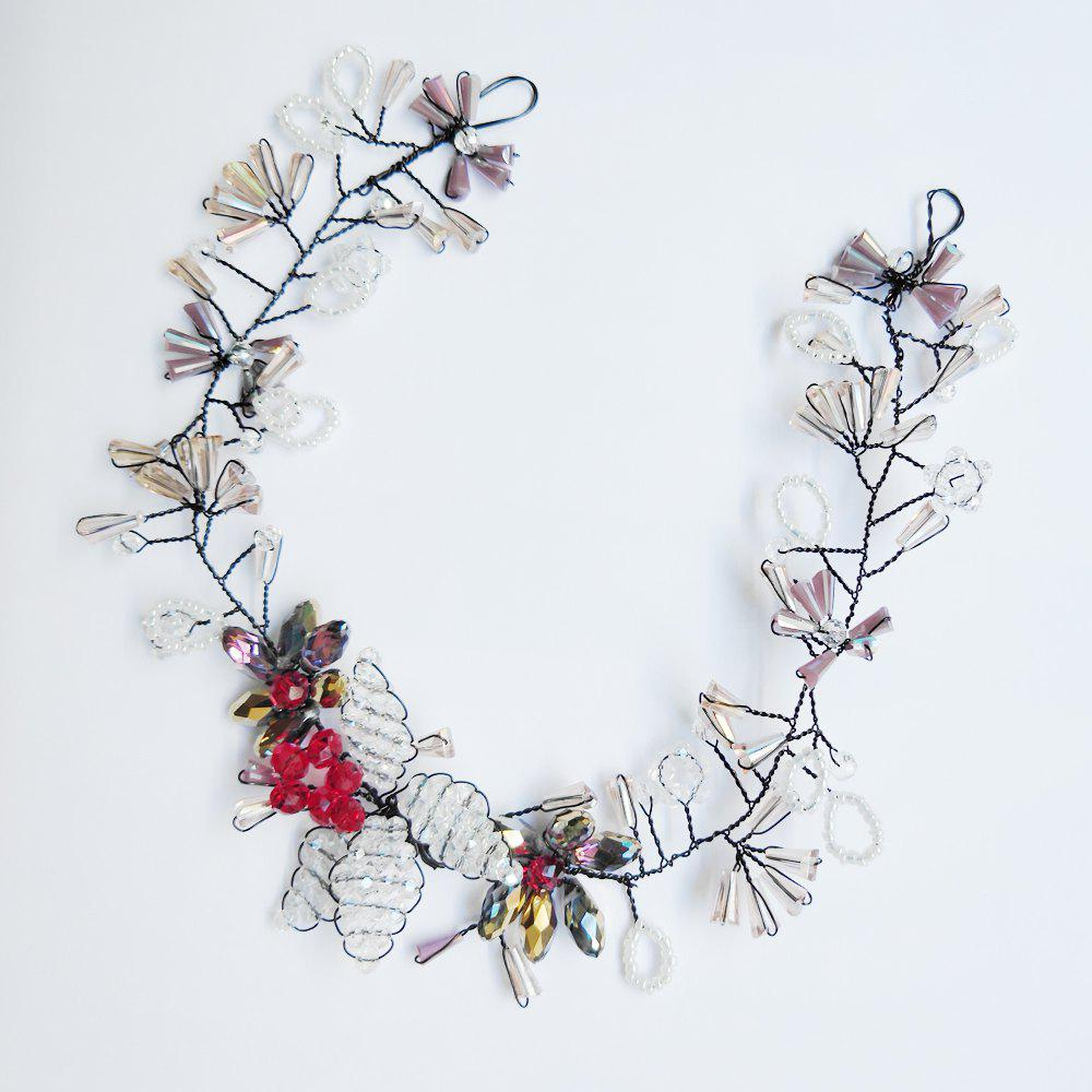 Wedding Ornaments Chinese Hair Band - TRANSPARENT