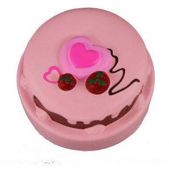 Jumbo Squishy Double Layer Strawberry Cake Toys - multicolor A