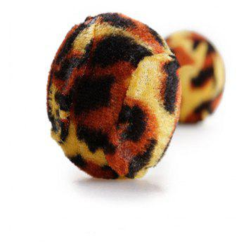 Pet Cat Grinding Claws Leopard Ball Creative Chewing Exercise Toy - LEOPARD
