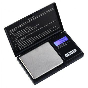 200g Precision Digital Scales for Jewelry 0.01 Weight Electronic - BLACK