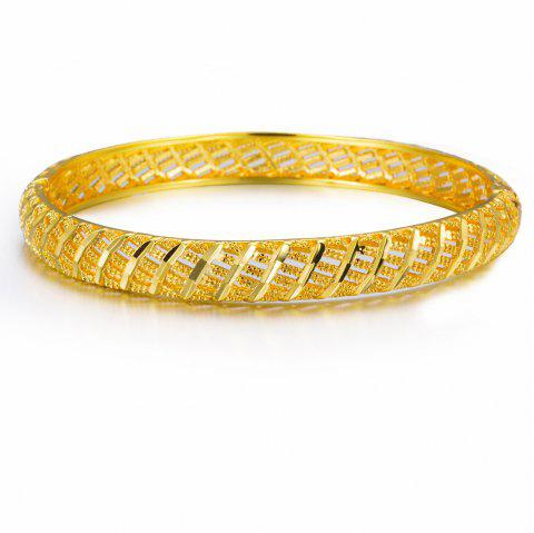 Bracelet Can Opened Bangle Jewelry - YELLOW
