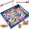 Marine Biological Congnition Magnetic Toy 32PCS - multicolor