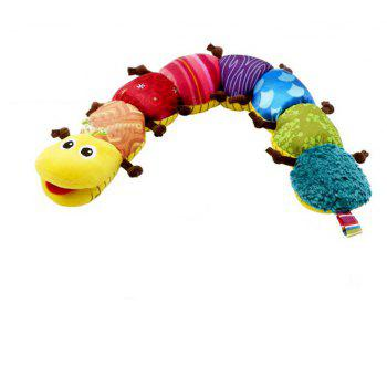 Cute Cartoon Animals Early Learning Education Children Music Caterpillar Toy - multicolor