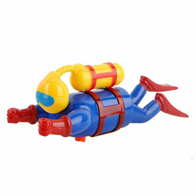 Divers Wind Up Swimming Toys - multicolor