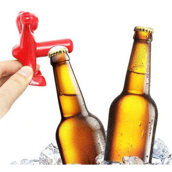 Creative Little Red Man Bottle Opener Bar Utensils Kitchen - RED