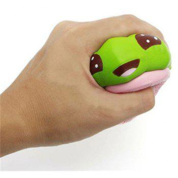 Jumbo Squishy Cactus en pot Slow Rising Soulagement du stress doux Kawaii Fun Toy - Vert