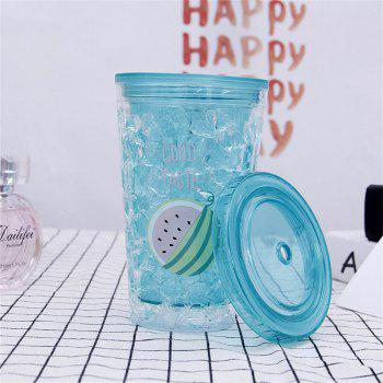 Outdoor Sports Student Cartoon Cute Plastic Cup - BUTTERFLY BLUE