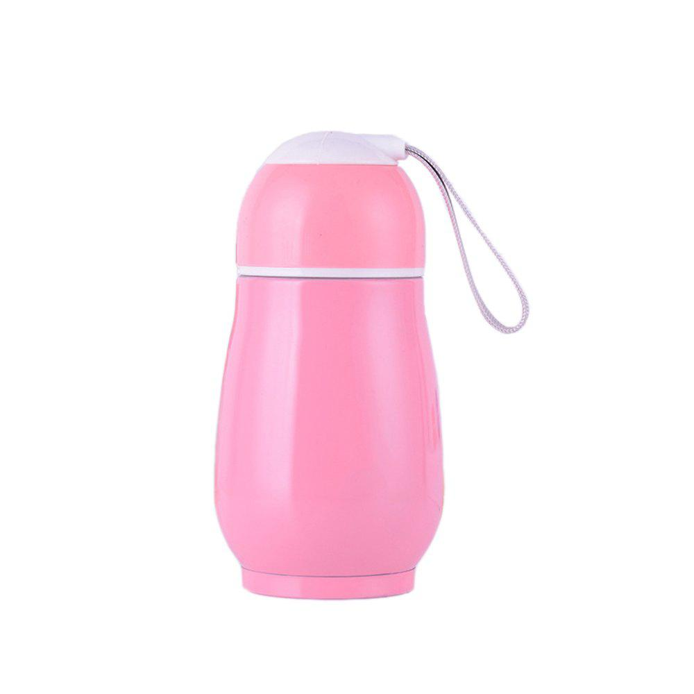 Stainless Steel Creative Mug Student Portable Fashion Insulation Cup - PINK