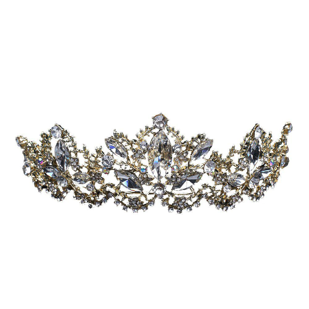 The Bride Crown Wedding Accessories - CHAMPAGNE