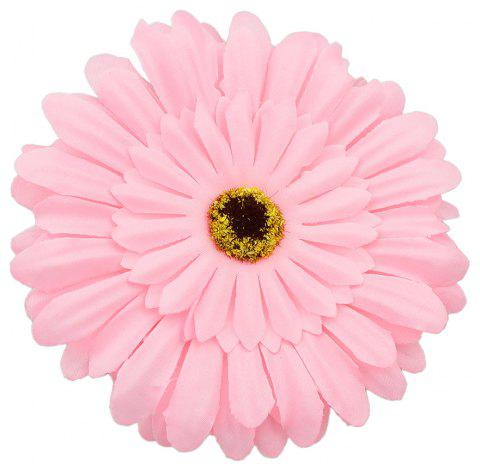 Colorful Multi-layer Large Flower Hairpin Hairband for Women - LIGHT PINK