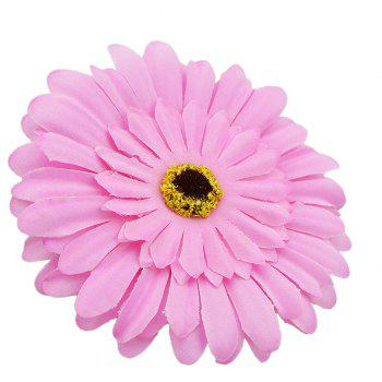Colorful Multi-layer Large Flower Hairpin Hairband for Women - BLOSSOM PINK