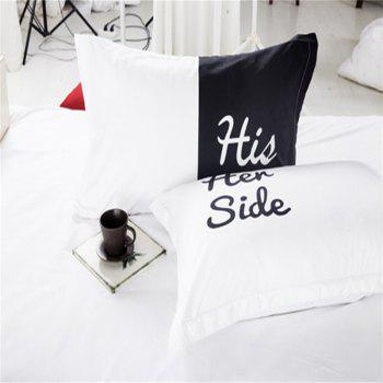 High-Quality Creative 3D Simple Black and White Three-Piece - multicolor QUEEN