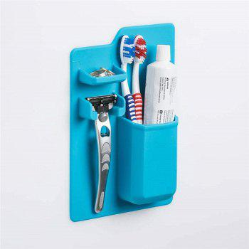 Silicone Mighty Toothbrush Holder - BLUE DIAMOND
