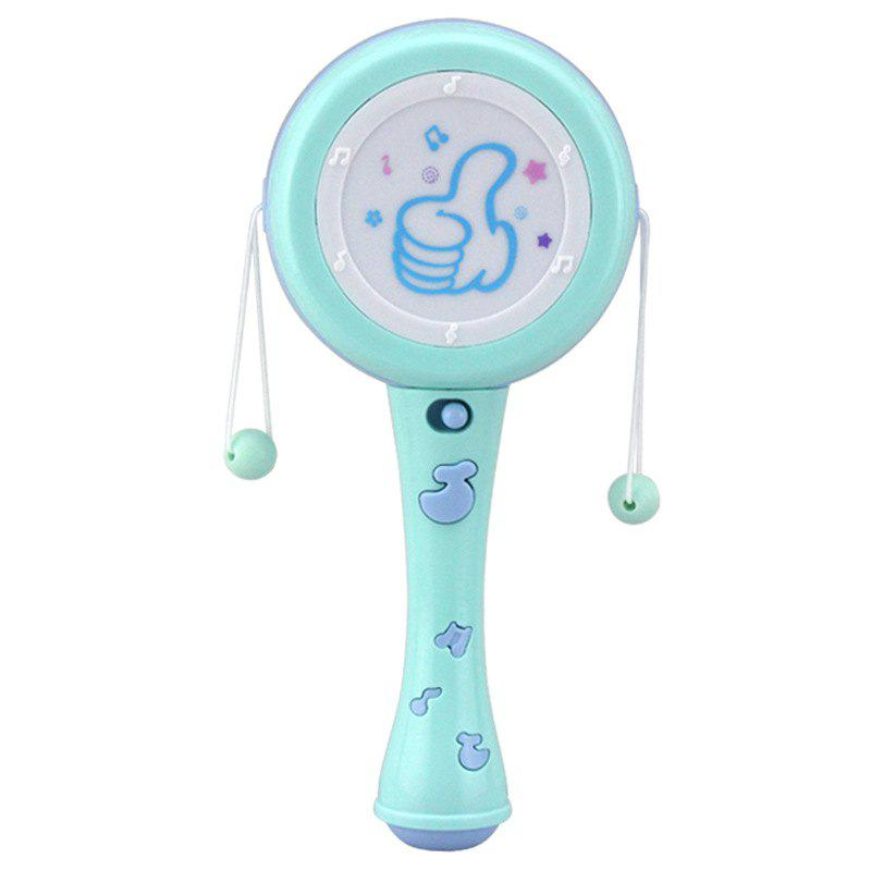 Baby  Light Music Hand-held Electric Rattle Toy - ELECTRIC BLUE