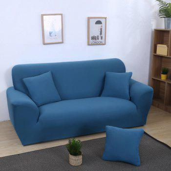 Anti-Skid and All-Wrapped Sofa Cover - BLUE IVY SINGLE SEAT SOFA:90CM-140CM