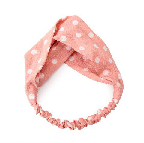 Home Wash Ladies Travel Simple Fashion Hairband - PINK