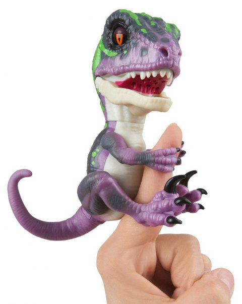 Dinosaure de collection interactif de Raptor Untamed - Violet Aimable
