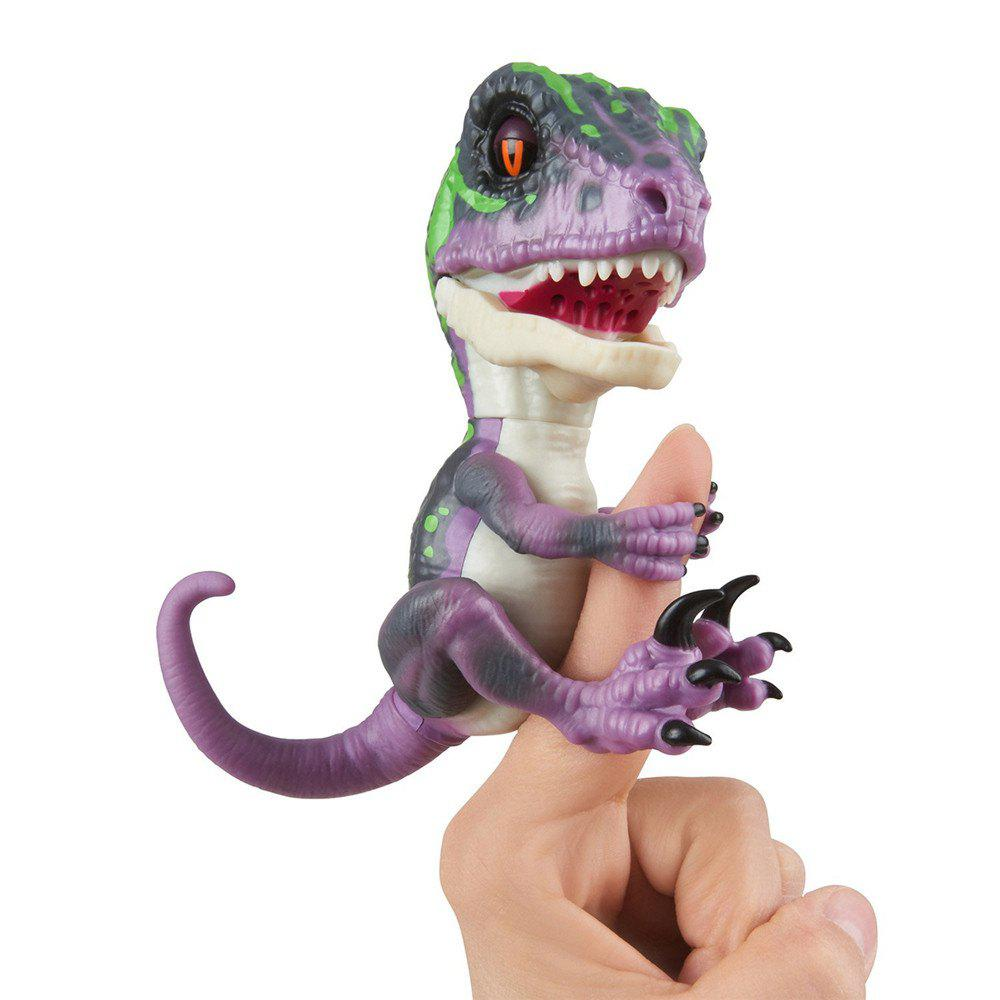 Untamed Raptor Interactive Collectible Dinosaur - LOVELY PURPLE
