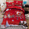 High Quality Creative Christmas Three Piece Set - multicolor TWIN
