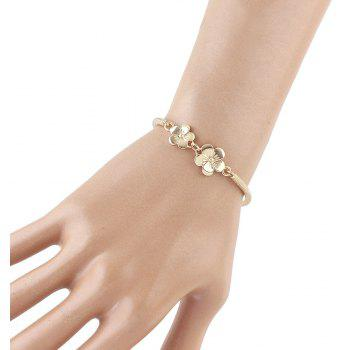 Minimalist Flower Bracelet for Women - GOLD