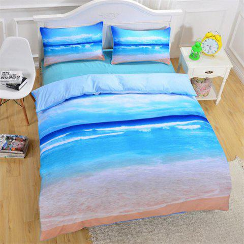 High-End Premium 3D Bedding Set of Three - multicolor KING
