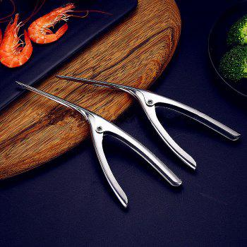 Stainless Steel Shrimping Tool - SILVER