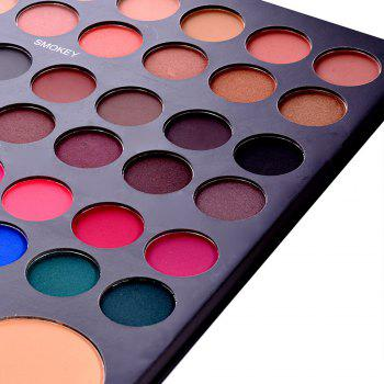 52 Couleur Combinaison Blush Eye Shadow Concealer Plateau de maquillage - multicolor