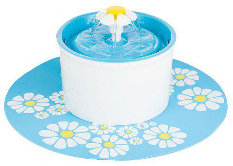 Healthy and Hygienic Pet Fountain Ultra Quiet - LIGHT BLUE