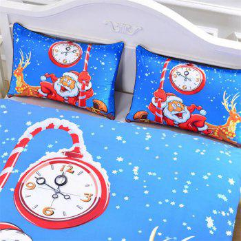 New High Quality Christmas Series Bedding  Set of Three - multicolor QUEEN