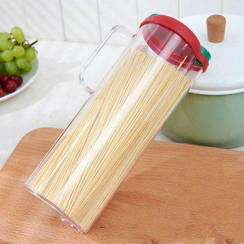 Noodle Drum Storage Tank with Handle - TRANSPARENT