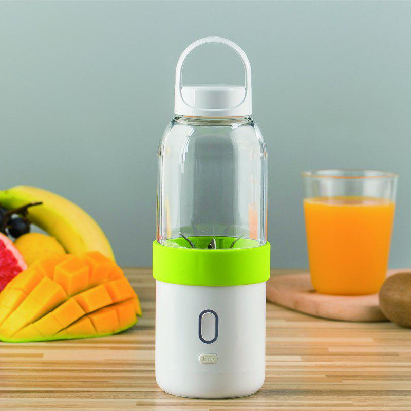 Juicer of Full Automatic and Mini Portable Cup-Shape Juicer 550ML - GREEN ONION 500 ML
